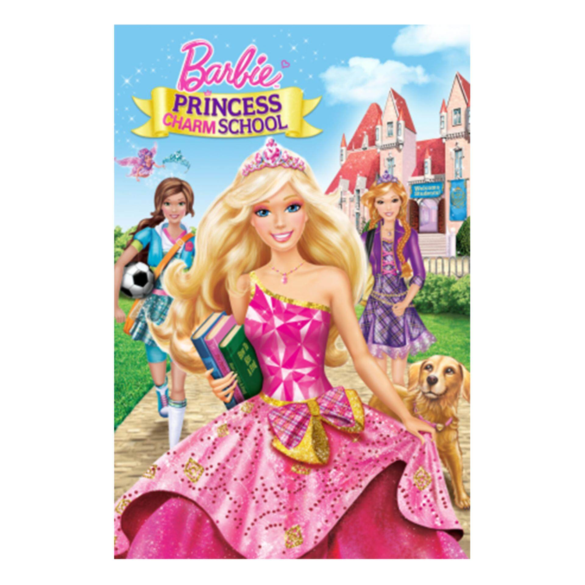 Barbie Princess Charm School - DVD