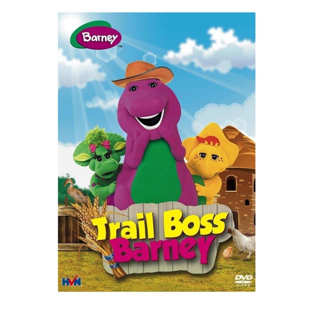 Barney Trail Boss Barney - DVD