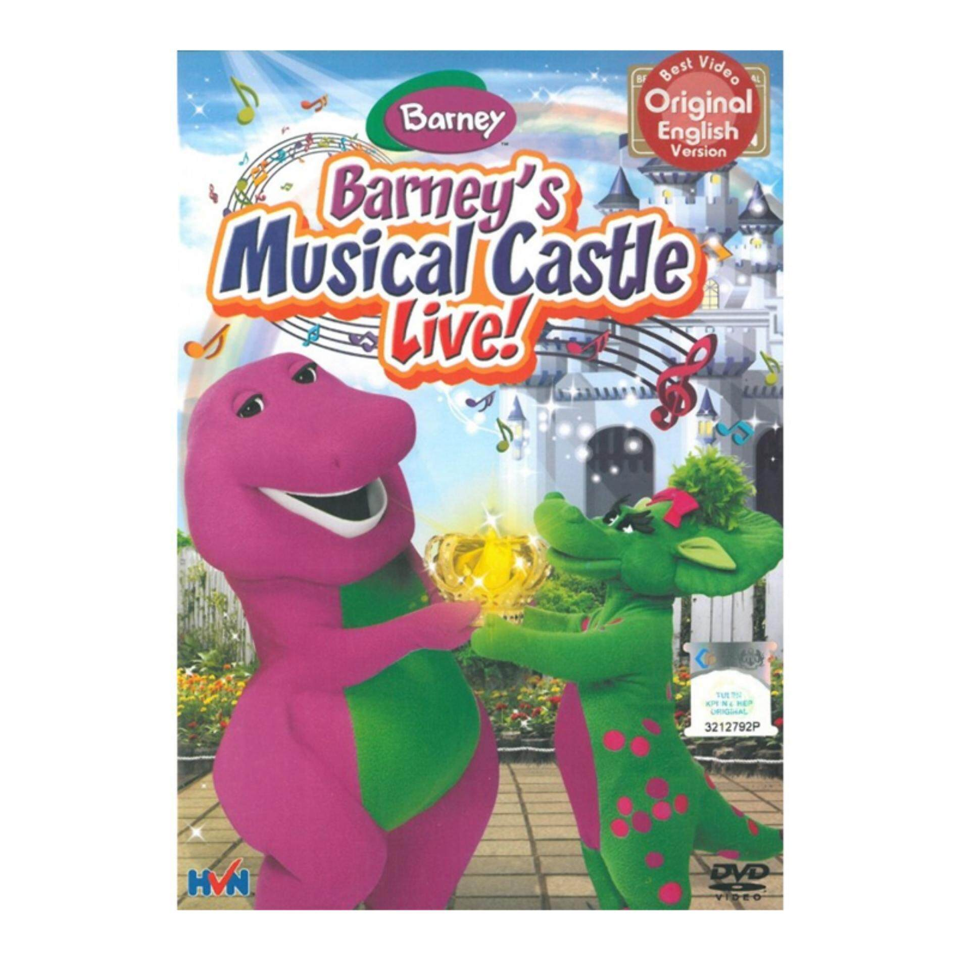 Barneys Musical Castle Live - DVD