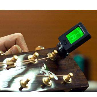 Harga Digital Chromatic Electric Guitar Tuner for Acoustic Bass ViolinUkulele Parts