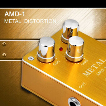 Harga Aroma AMD-1 Metal Distortion Electric Guitar Effect Pedal Aluminum Alloy Housing True Bypass