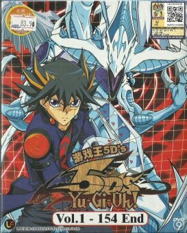 Harga YU-GI-OH ! 5D'S - COMPLETE ANIME TV SERIES DVD BOX SET (1-154 EPISODES)