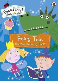 Harga Ben and Holly's Little Kingdom : Fairy Tale Sticker Activity Book
