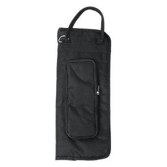 Harga New Drumstick Bag Nylon Black Mallet Brush Storage Shoulder Holder Pouch Gigbag