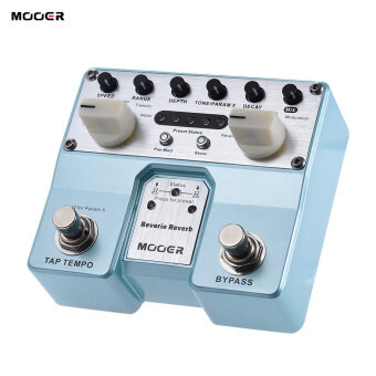 Harga MOOER Reverie Reverb Guitar Effect Pedal 5 Reverberation Modes 5 Enhancing Effects with Two Footswitch