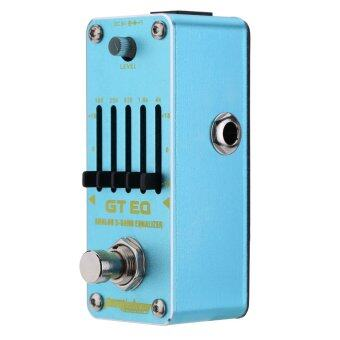Harga AROMA AEG-3 GT EQ Analog 5-Band Equalizer Electric Guitar Effect Pedal Mini Single Effect with True Bypass