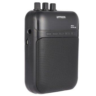 Harga ammoon AMP -01 5W Guitar Amp Recorder Speaker TF Card Slot Compact Portable Multifunction