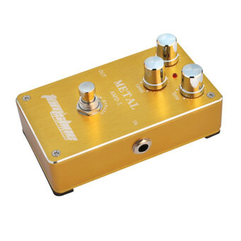 Harga Guitar Effect Pedal Aroma AMD-1 Metal Distortion Electric Guitar Effect Pedal Aluminum Alloy Housing True Bypass