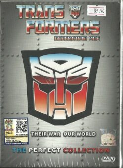 Harga TRANSFORMERS GENERATION ONE - COMPLETE ANIME TV SERIES DVD BOX SET (1-98 EPISODES + MOVIE) (ENGLISH AUDIO)