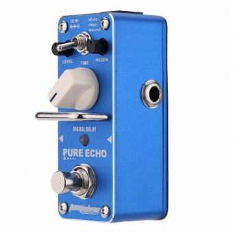 Harga AROMA APE-3 Pure Echo Digital Delay Electric Guitar Effect Pedal Mini Single Effect with True Bypass
