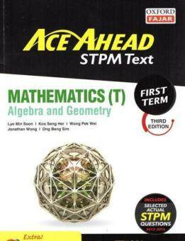 Harga Ace Ahead Mathematics T First Term 3rd Edition 16/17