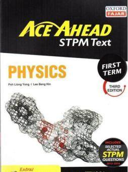 Harga Ace Ahead STPM Text Physics First Term