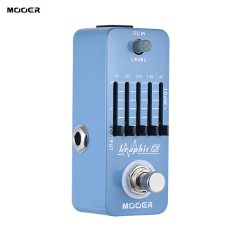 Harga MOOER Graphic G Mini Guitar Equalizer Effect Pedal 5-Band EQ True Bypass Full Metal Shell
