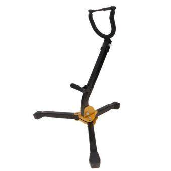 Harga BolehDeals Music Stand Saxophone Stand Yellow & Black