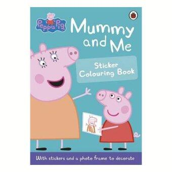 Harga Mummy & Me Sticker Colouring Book