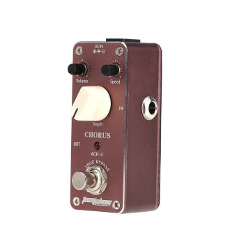 Harga Aroma ACH-3 Mini Chorus Electric Guitar Effect Pedal with Fastener Tape Aluminum Alloy Housing True Bypass