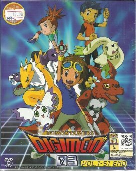 Harga DIGIMON TAMERS DIGIMON 03 - COMPLETE ANIME TV SERIES DVD BOX SET (1-51 EPISODES)