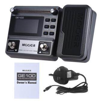 Harga MOOER GE100 Guitar Multi-effects Processor Effect Pedal with Loop Recording(180 Seconds) Tuning Tap Tempo Rhythm Setting Scale & Chord Lesson Functions Outdoorfree