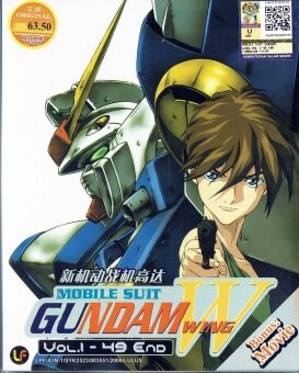 Harga MOBILE SUIT GUNDAM WING - COMPLETE ANIME TV SERIES DVD BOX SET (1-49 EPISODES + MOVIE) (ENGLISH AUDIO)