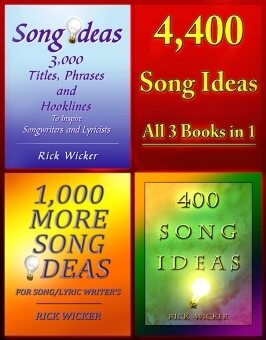 Harga 4,400 Song Ideas All 3 Books in 1 (eBook)