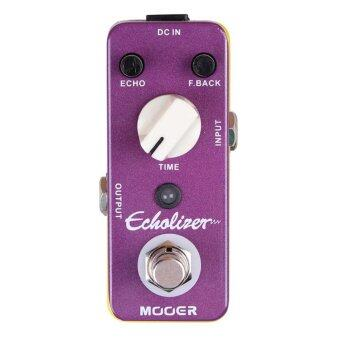 Harga Mooer Echolizer Analog Delay Effect Pedal True Bypass