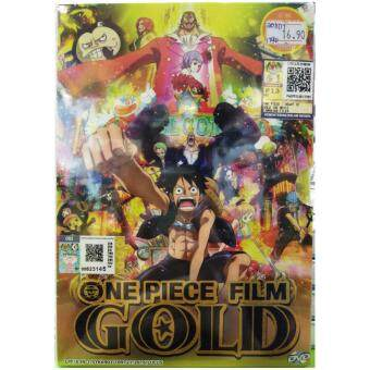 Harga ONE PIECE FILM GOLD - COMPLETE ANIME MOVIE DVD BOX SET