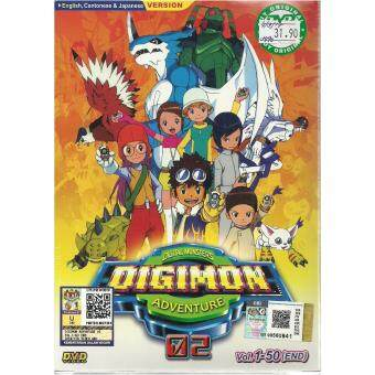 Harga DIGITAL MONSTERS DIGIMON ADVENTURE 02 - COMPLETE ANIME TV SERIES DVD BOX SET ( 1-50 EPISODES)