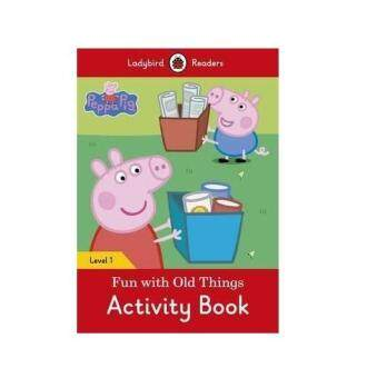 Harga Peppa Pig: Fun with Old Things Activity Book - Ladybird Readers: Level 1