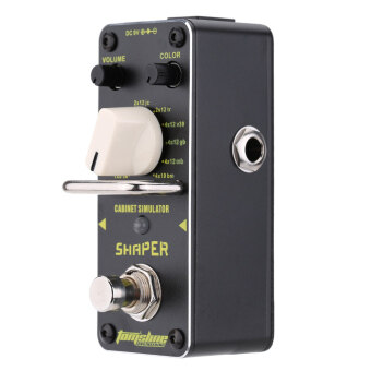 Harga AROMA ASR-3 Shaper Cabinet Simulator Mini Single Electric Guitar Effect Pedal with True Bypass