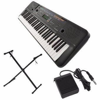 Harga Yamaha Digital Music Keyboard PSR-E253 + Keyboard Stand + Sustain Pedal + Music Book Rest