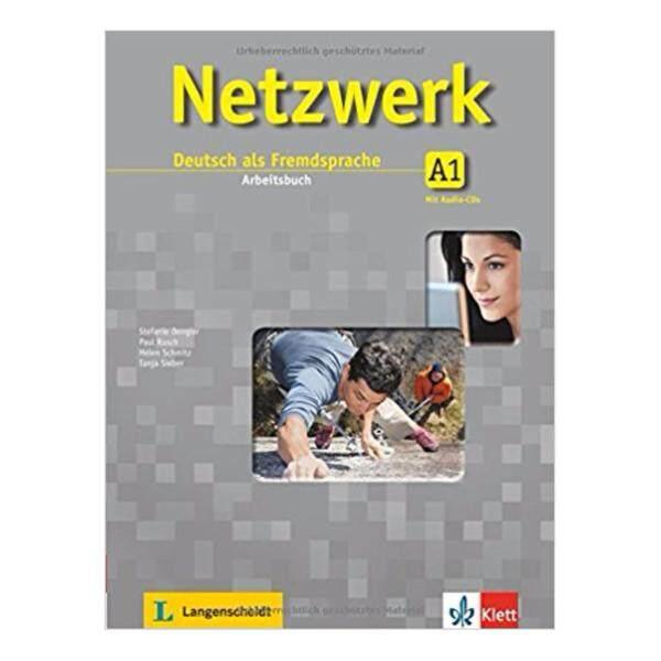 Netzwerk A1: Deutsch als Fremdsprache. Arbeitsbuch mit 2 Audio-CDs Klett * pre order * pre order