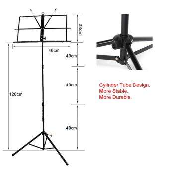 StarSun MS001 Folding Music Stand / Sheet Music Stand with Carry Bag