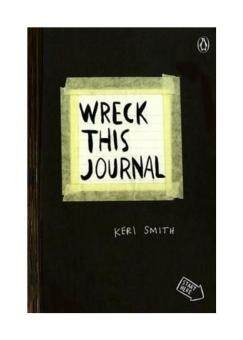 Harga Wreck This Journal (Black): To Create Is to Destroy