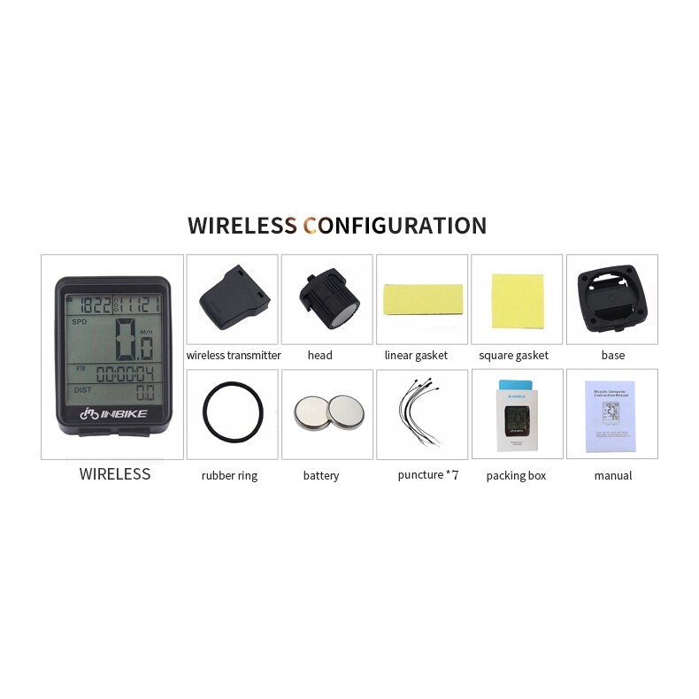 Moto Accessories - Wire Cycling Waterproof Bike Computer Bicycle LED Speedometer Odometer - Motorcycles, Parts