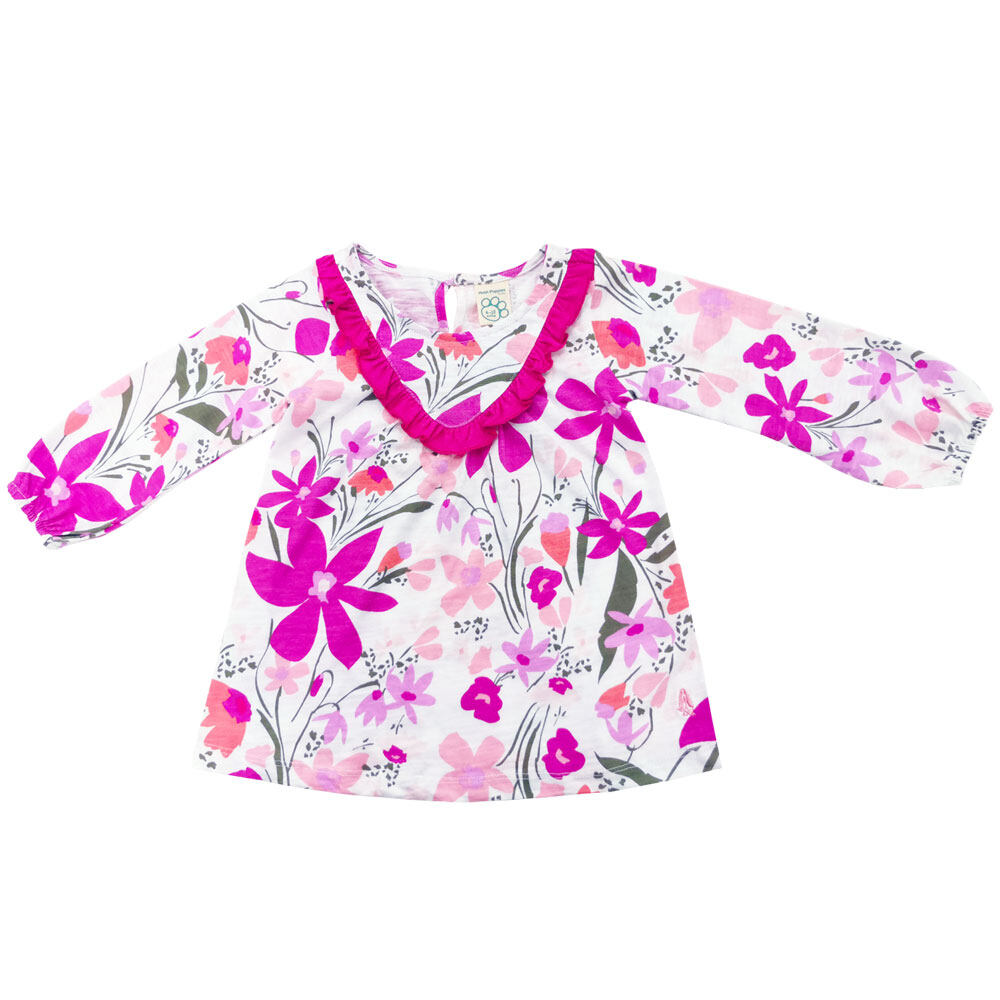 Hush Puppies-Baby Diana Long Sleeve Dress HFD835961
