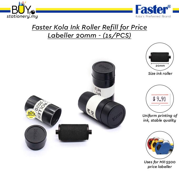 Faster Kola Ink Roller Refill for Price Labeller 20mm – (1s/PCS)