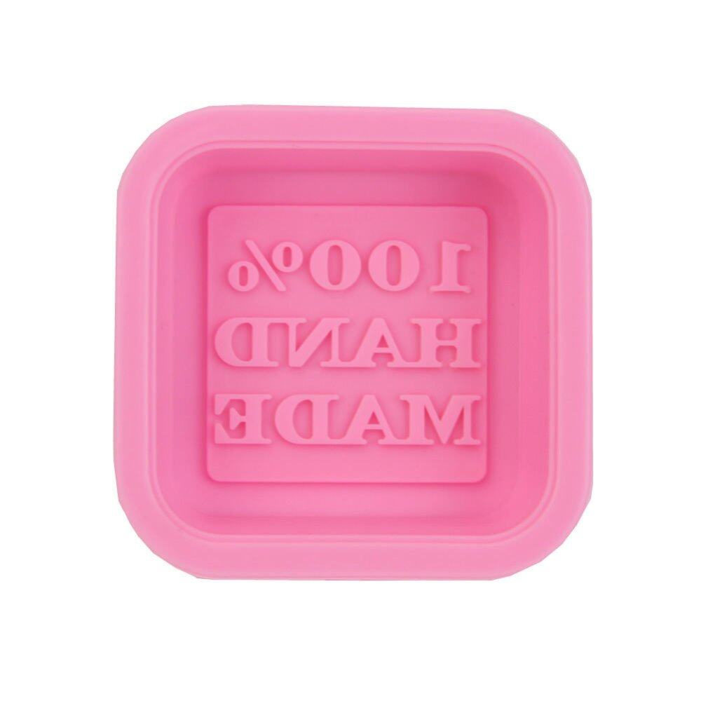 5 Pcs Chocolate Jelly Dessert Cake Pastry Soap Silicone Mold