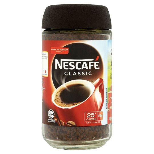 NESCAFE CLASSIC INSTANT COFFEE 50G