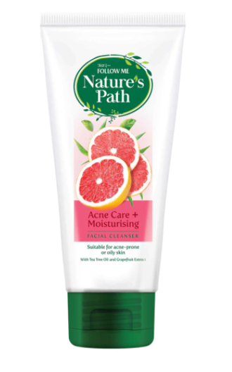 Follow Me Nature\'s Path Facial Cleanser Acne Care / Whitening / 3X Moisturising (160g)
