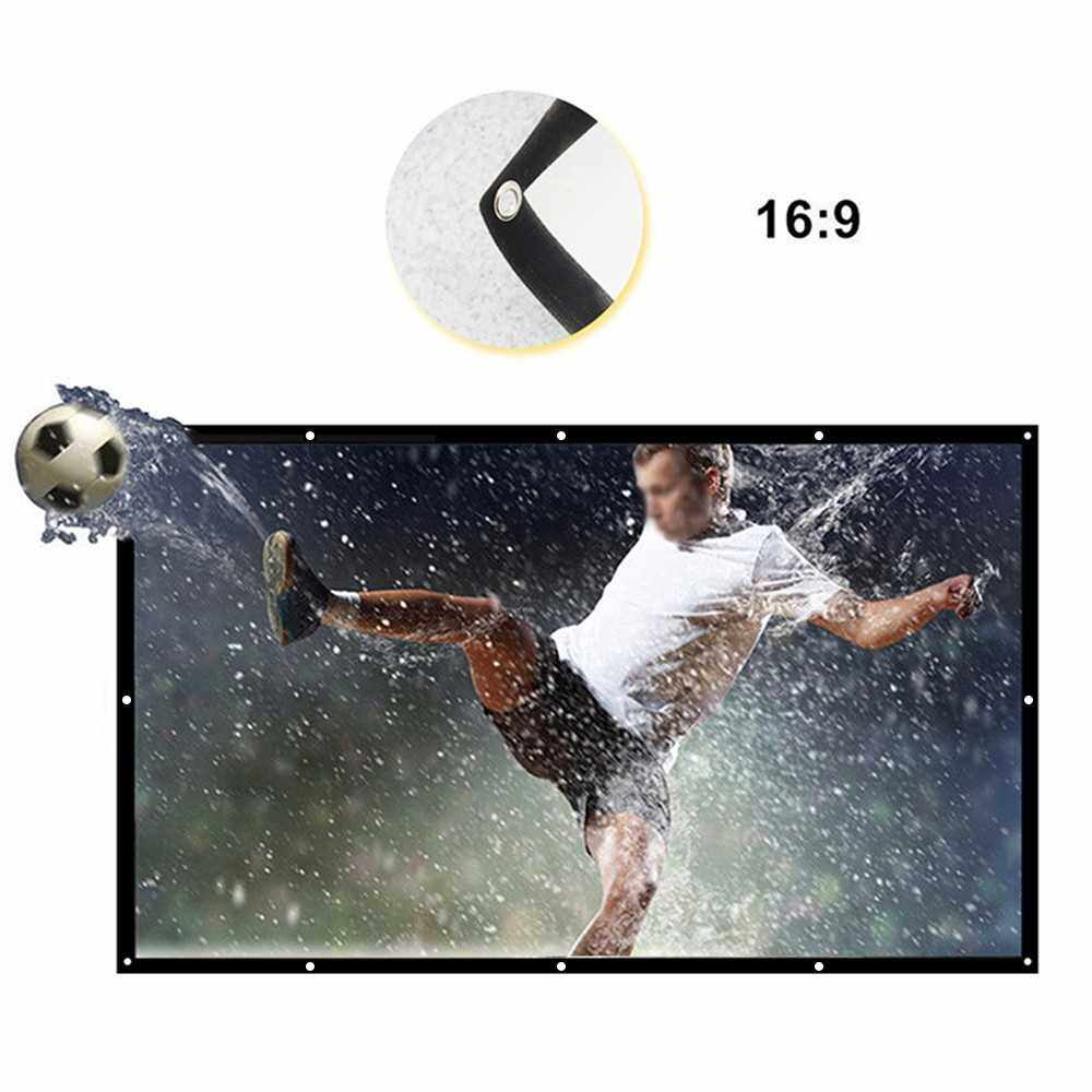 H150 Foldable 16:9 150 Inch Portable Projector Screen (Standard)