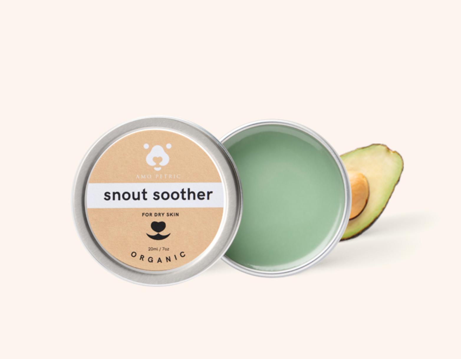 Amo Petric【阿默】Avocado Snout Soother / Pet Cream Care / Dry Nose 牛油果润鼻膏 10ml