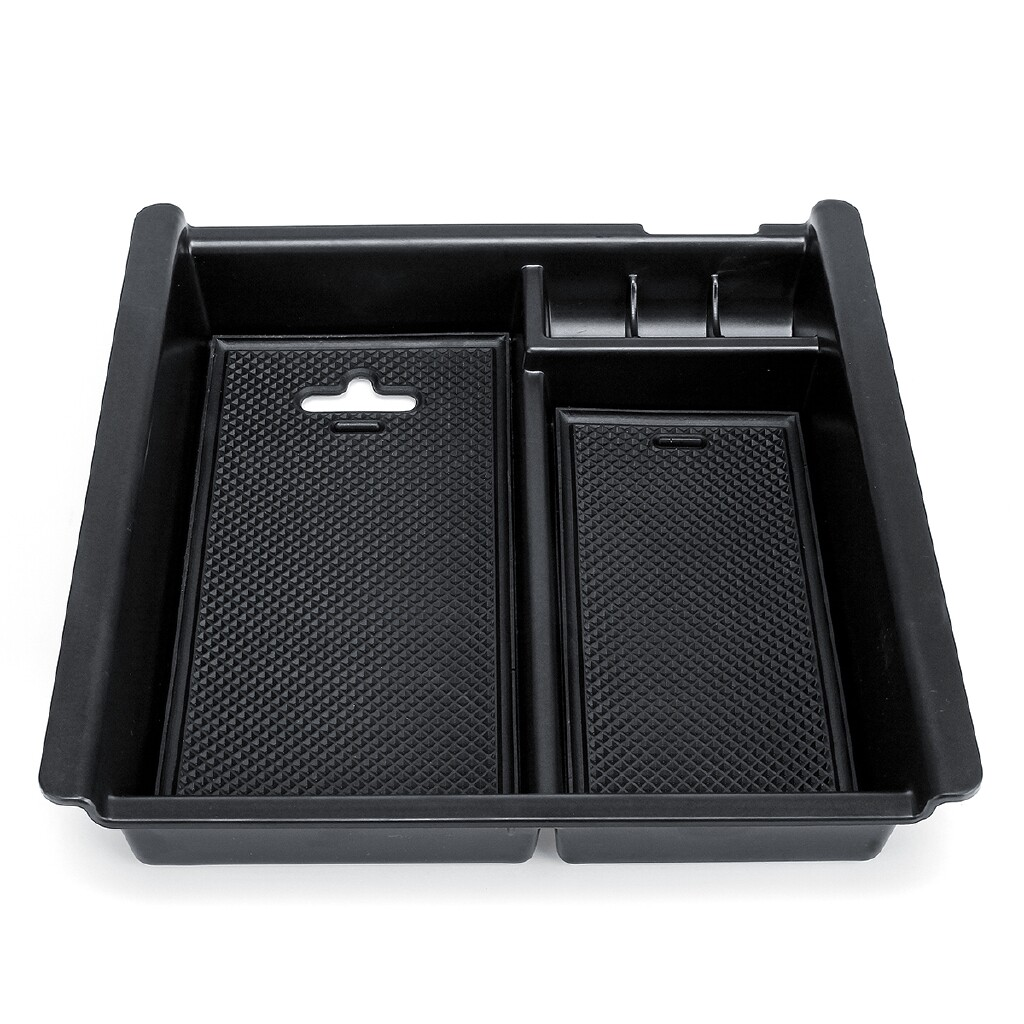 Organizers - Armrest Center Storage Box For Toyota Hilux 2004-2014 Console Glove Tray Case - Car Accessories