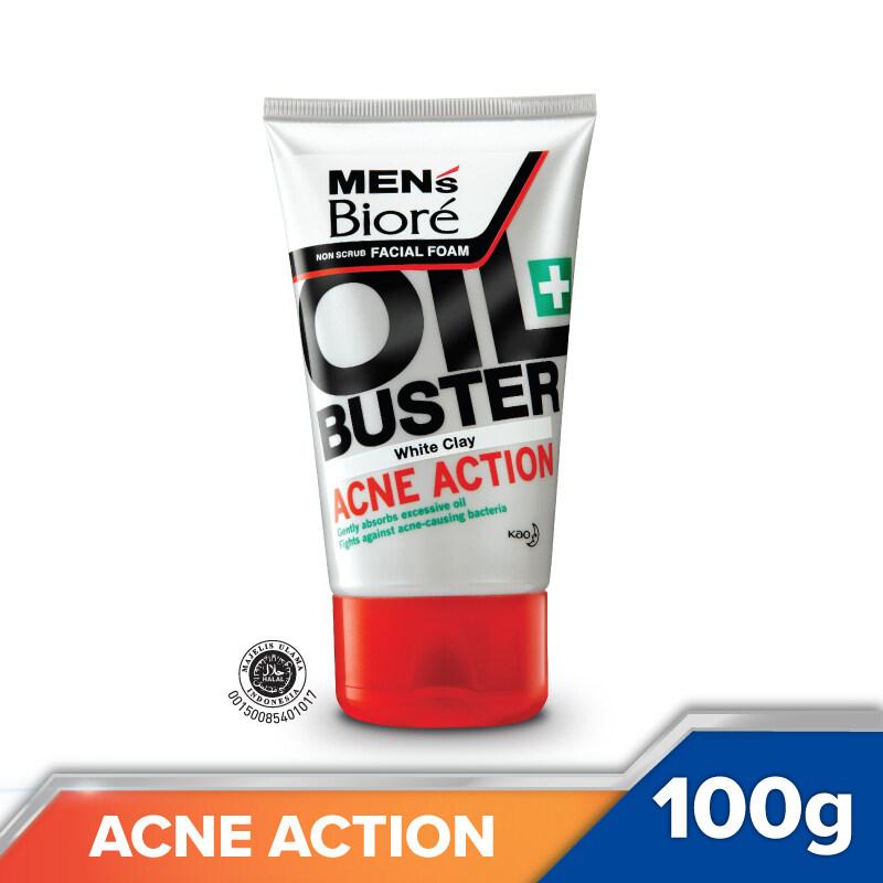Men's Biore Facial Foam Acne Action