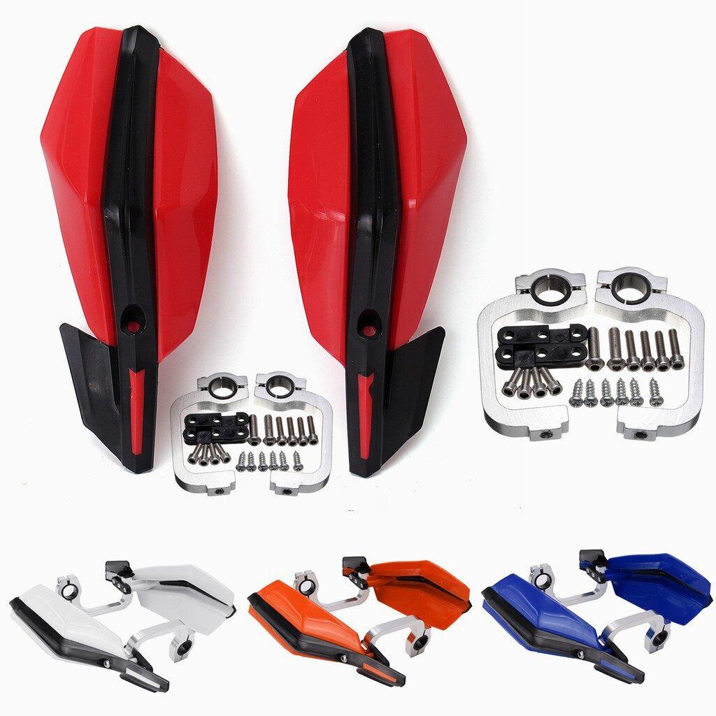 Moto Accessories - 22mm Motorcycle Dirt Bike Handlebar Hand Guard For Honda CRF 150 100 XR 230 - WHITE / DARK ORANGE / BLACK / BLUE / RED