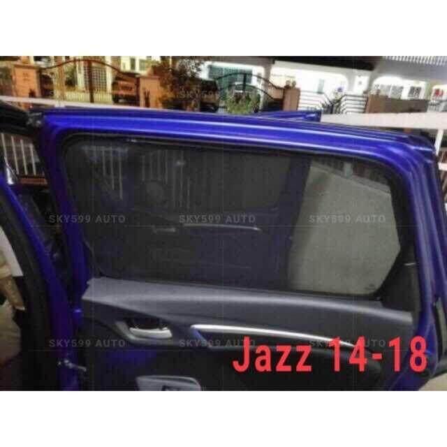 Honda Jazz 2014-2018 Magnetic Sunshade 4pcs