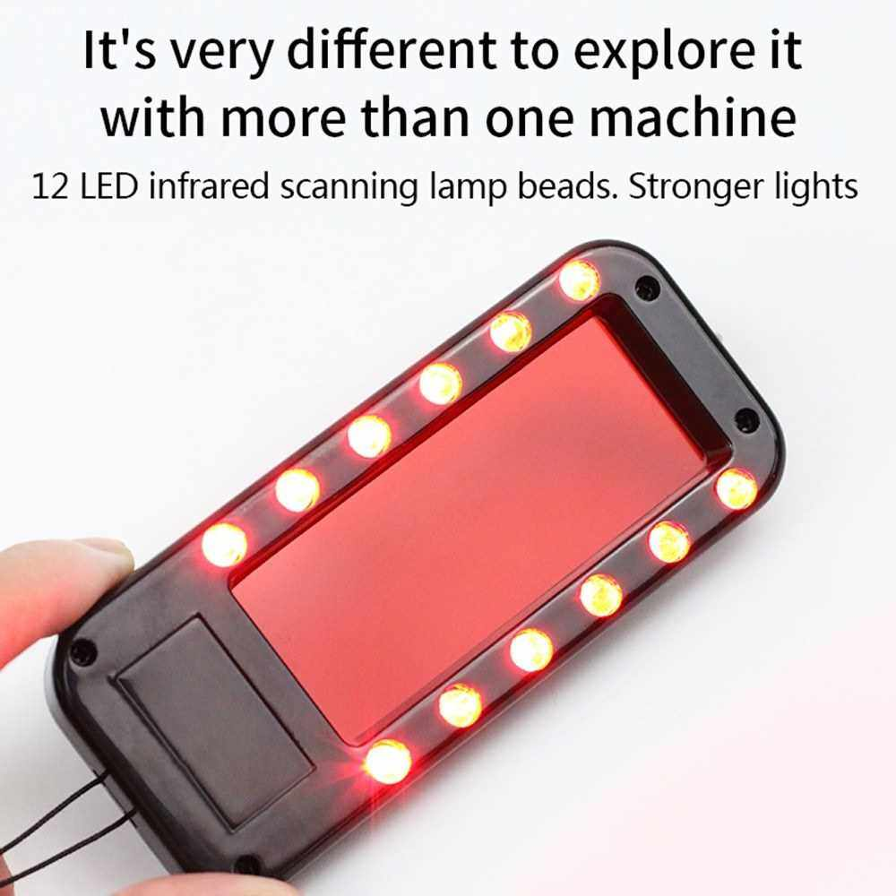 Best Selling Mini Anti Spy Detector USB Rechargeable Spy Camera Finder with 12 Infrared LEDs for Car Hotel Trip Travel Fitting Room (Standard)