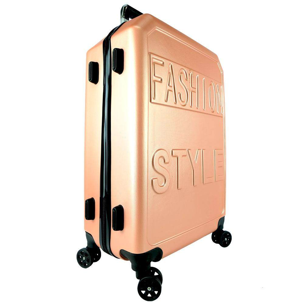 Poly-Pac XA9914 20inch ABS Hard Case Trolley- Rose Gold