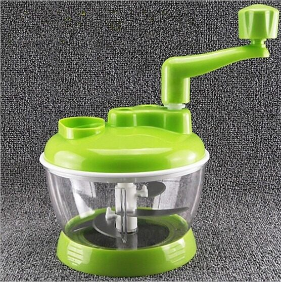 Manual food Chopper 420 Stainless Steel with 4 Blades (New Arrival) Special Promotional Price