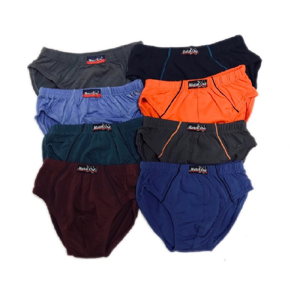 KIDDY KIDS WEAR BOY 2 PCS PACK UNDERPANTS UNDERWEAR  S-XL UMUR 2-9 YRS (RANDOM COLOR)