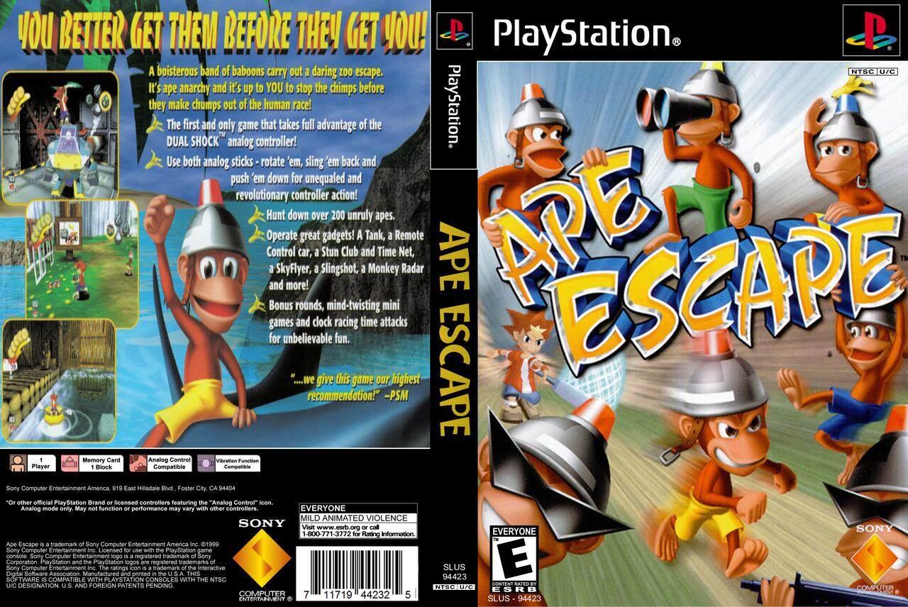 PS1 Ape Escape